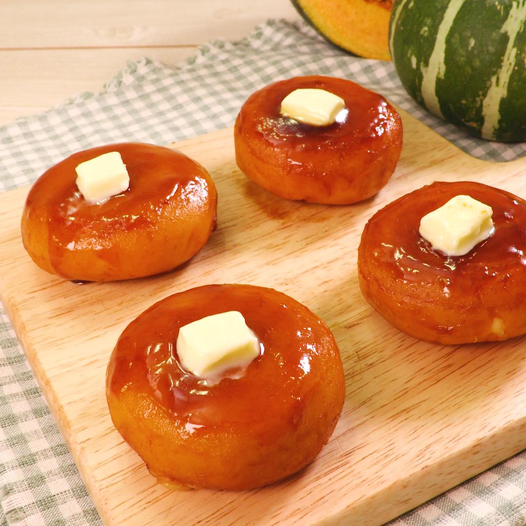 かぼちゃチーズもち